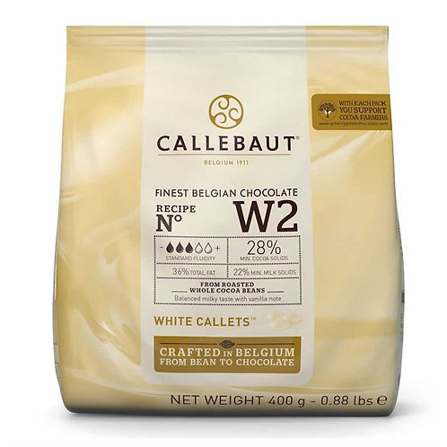 Callebaut Belgian Chocolate - White