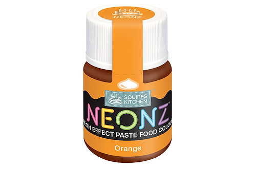 Squires Kitchen NEONZ Paste Food Colour Orange 20g