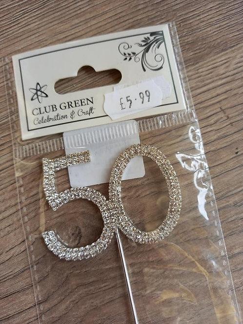 Diamante Number 50