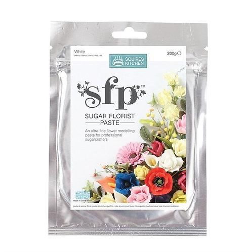 Squires Kitchen White Florist Paste - 200g - BB28.5.23