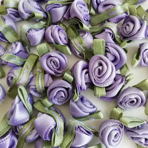 Lavender Ribbon Roses - Small