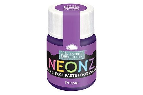 Squires Kitchen NEONZ Paste Food Colour Purple 20g