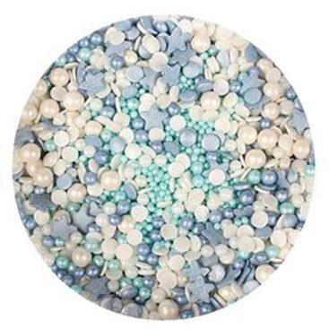 Ocean Sprinkle Mix - 100g - Purple Cupcakes