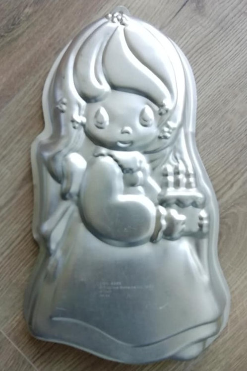 Girl - Wilton Novelty Cake Tin, Pan - Ex Hire