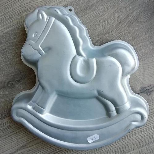 Horse, Rocking Horse, Wilton Novelty Cake Tin, Pan - Ex Hire