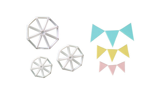 FMM Bunting Cutters - Set Of 3