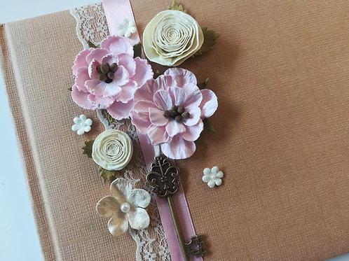 Vintage Floral Guestbook