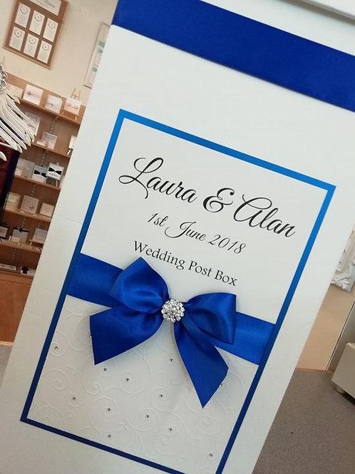 Laura - Tall Post Box