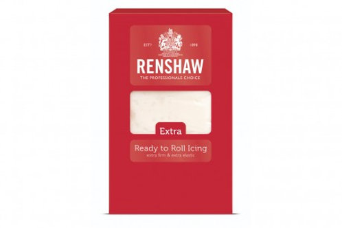 Renshaw Extra White Ready To Roll Icing 1KG - BB Dec 22