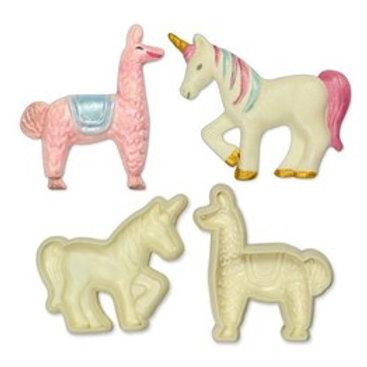 Exotic Animals - Jem Pop it Mould - Set of 2