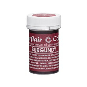 Sugarflair Spectral Food Colouring Paste - Burgundy - 25g