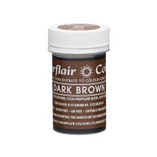 Sugarflair Spectral Food Colouring Paste - Dark Brown - 25g