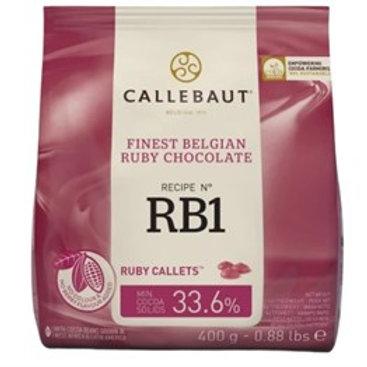 Callebaut Belgian Ruby Chocolate