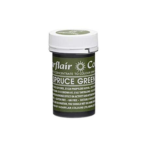Sugarflair Spectral Food Colouring Paste - Spruce - 25g