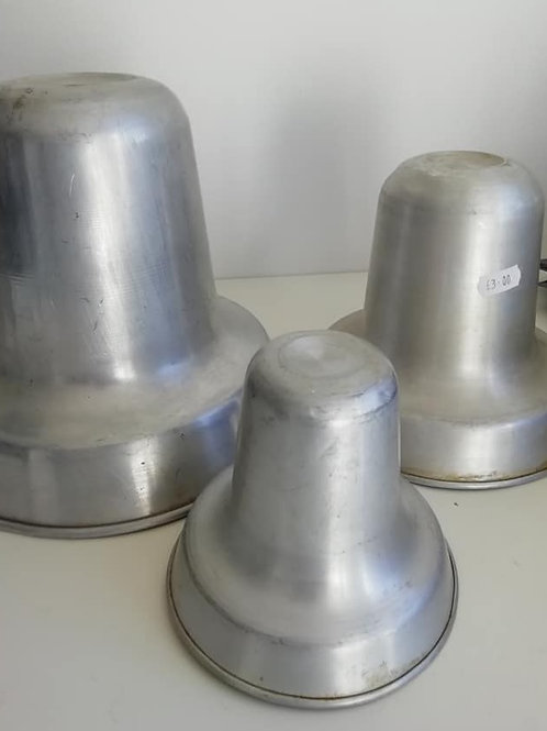 Bell Tins - Set of 3,  EXHIRE Invicta Tins - Sold as seen