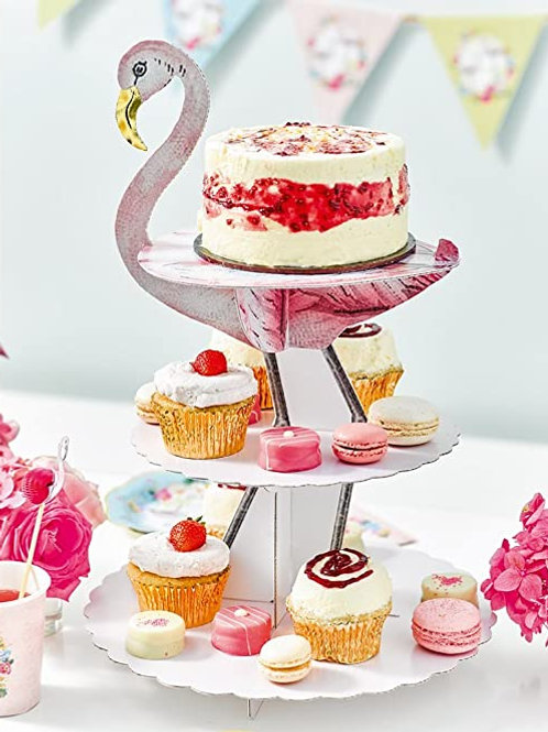 Flamingo Cupcake Stand- Talking Tables