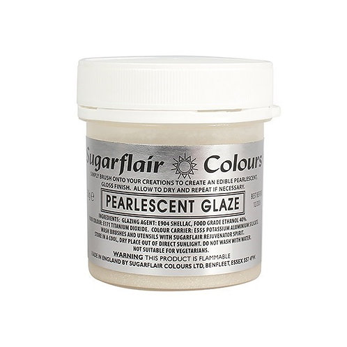 Sugarflair Pearlescent Glaze - 50g