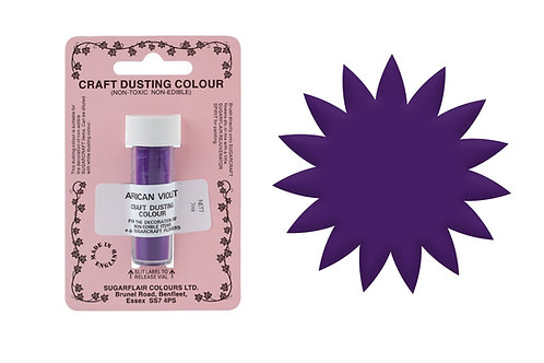 Sugarflair Non - Edible Craft Dust - African Violet - 7ml