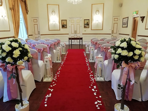 80 Chair Covers and Sash Hire - Includes deposit