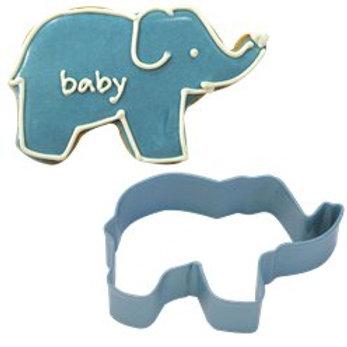 Blue Elephant Cookie Cutter