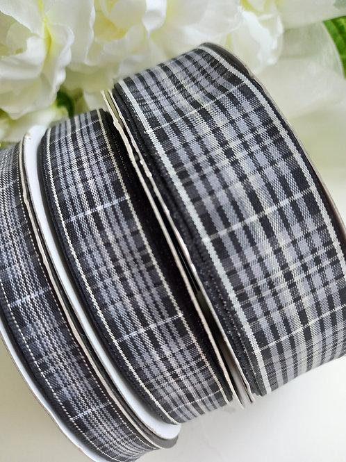 GRANITE Pride of Scotland Tartan Ribbon - 10mm, 16mm, 25mm, 37mm