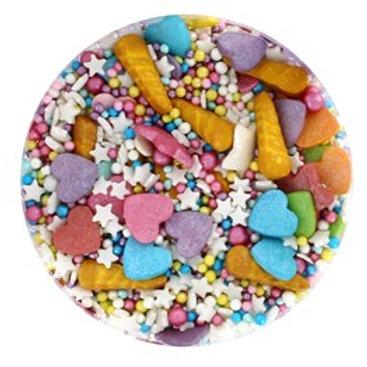 Unicorn Dream Sprinkle Mix - 90g - Purple Cupcakes