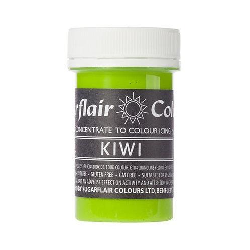 Kiwi Green, Food Colouring Paste, Sugarflair Pastel Paste 25g