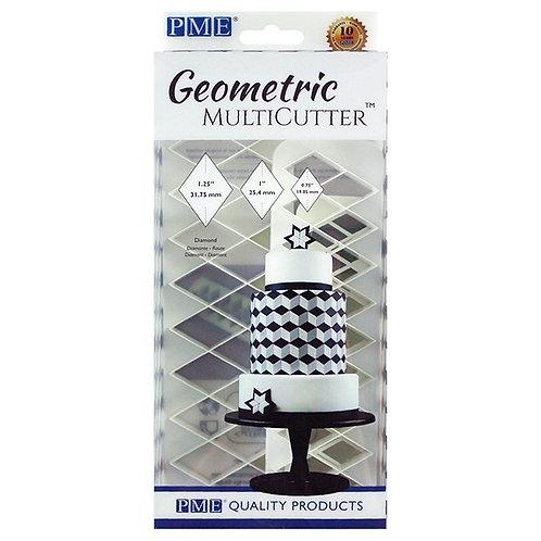 PME Geometric Diamond Cutters - Set of 3 Cutters