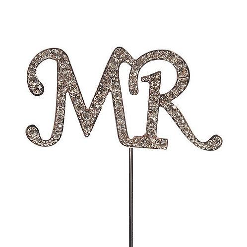 Mr  Diamante  Cake Topper - Cake Star