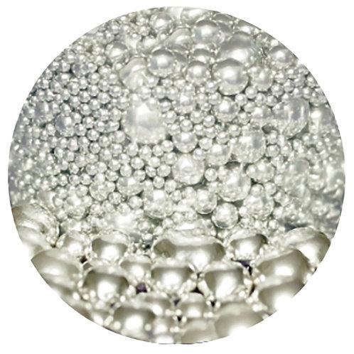 SHORT DATE - Edible Silver Balls 2mm - 10mm Mixed - 100g