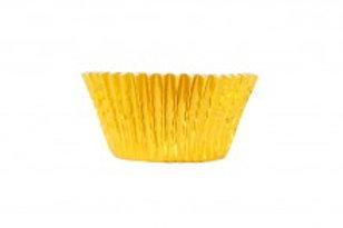 Culpitt Mini Foil Gold Coloured Baking Cases - 60 cases