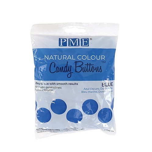 PME Natural Colour Candy Buttons - Blue - 200g - BB 25.03.22