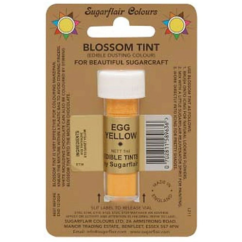 Sugarflair Edible Blossom Tint Colour - Egg Yellow 7ml