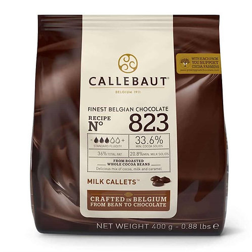 Callebaut Belgian Chocolate - Milk