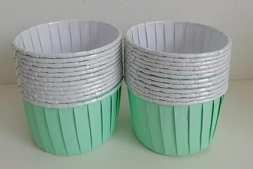 24 Baking Cups - Mint