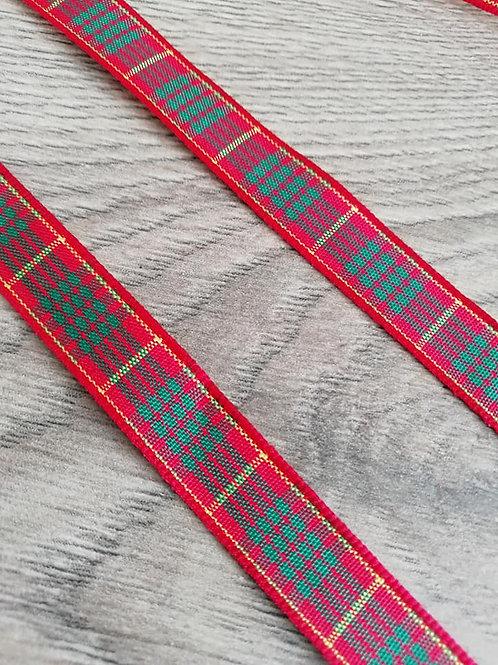 Cameron Tartan Ribbon - 1 Meter x 10mm