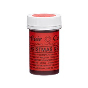 Sugarflair Spectral Food Colouring Paste - Christmas Red - 25g