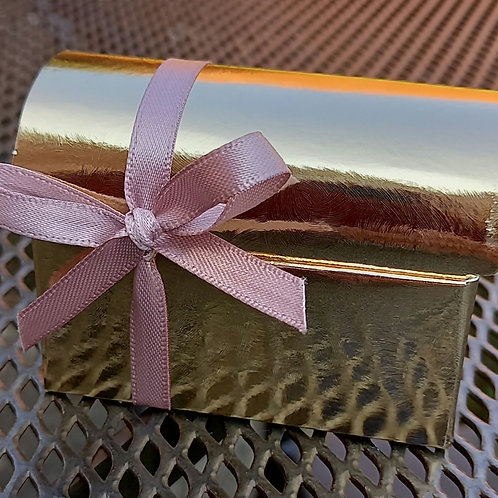 Cofantto Wedding Favour Box - Gold Coloured - Pack of 10