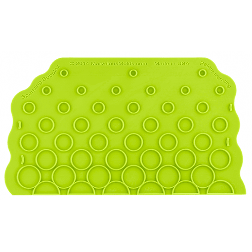 Sparkling Bubbles Silicone Onlay - Marvelous Moulds