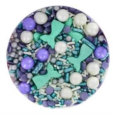 Mystical Mermaid Sprinkle Mix - 90g - Purple Cupcakes