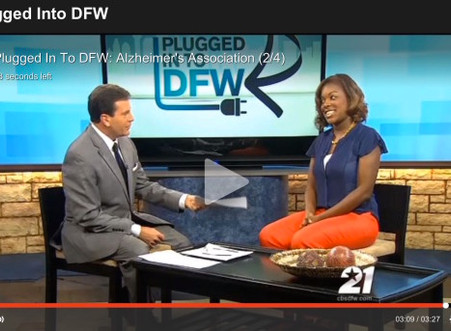 Plugged InTo DFW – Alzheimer's and Brain Awareness Month