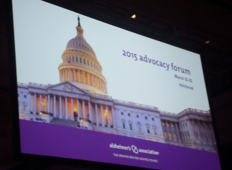 2015 Alzheimer's Association Advocacy Forum Recap Part 1