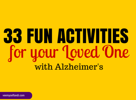 33 Activities for Your Loved One With Alzheimer's