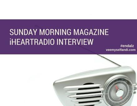 Sunday Morning Magazine iHeartRadio Interview