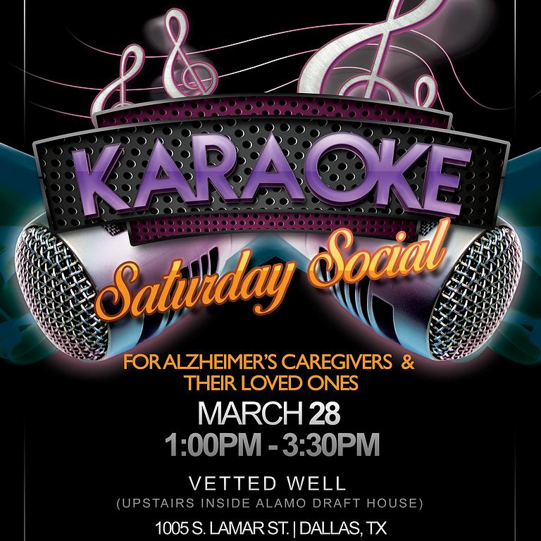 Saturday Social: Karaoke!