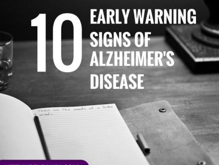 10 Early Warning Signs of Alzheimer's