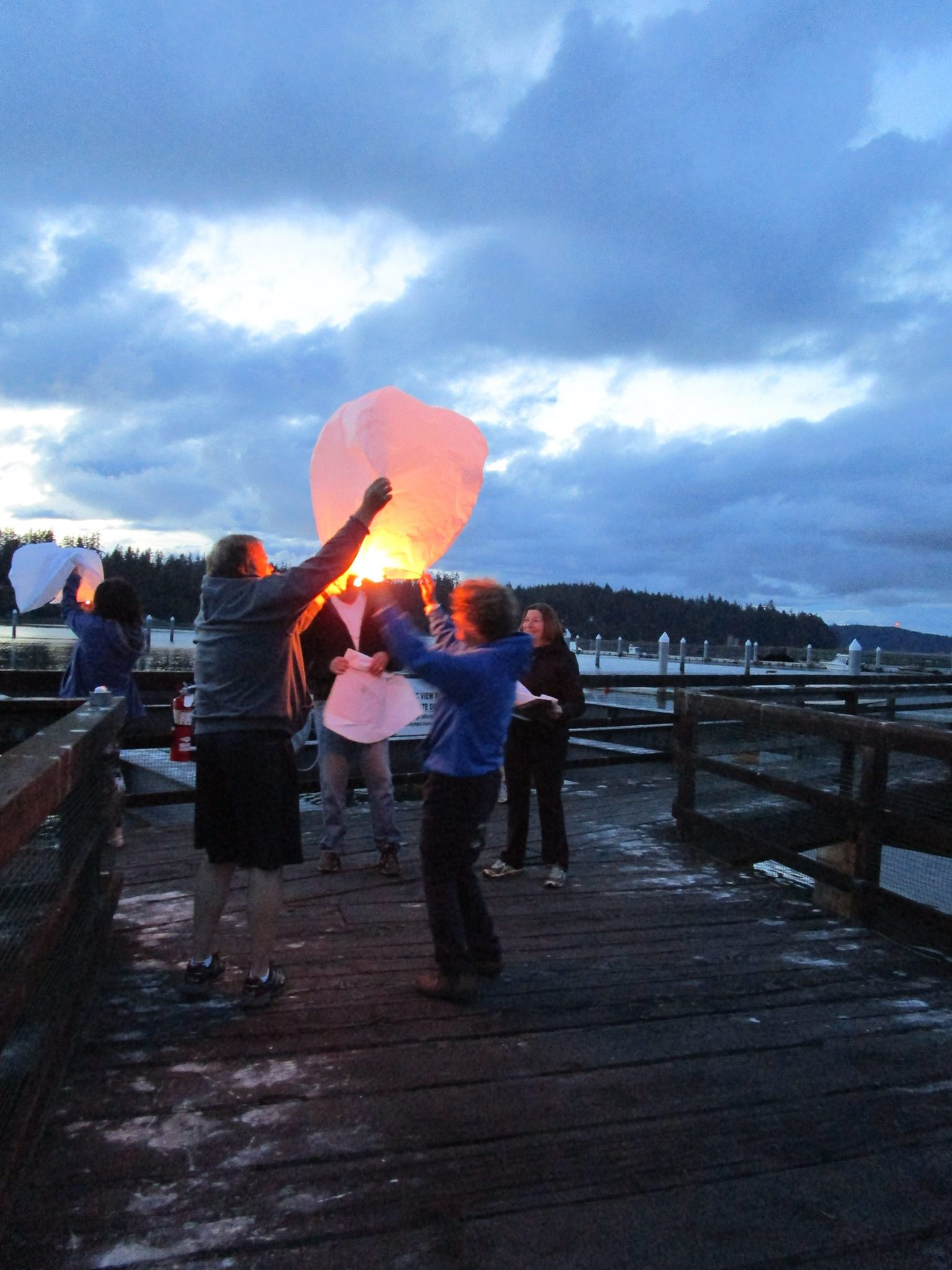 Sky Lantern Ceremony