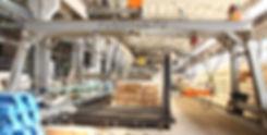 Горизонтальный пресс для производства клееного бруса