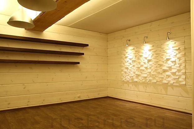 Стеновые панели из натуральной древесины