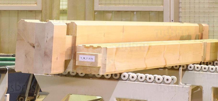 Клеёный брус из кедра сечением 330х240